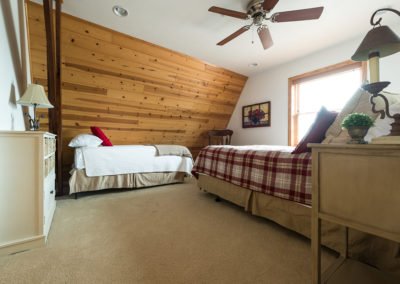 Blums Barn Loft Bedroom
